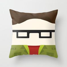 Big Bang Theory Pillow Leonard by telahmarie on Etsy