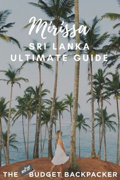 If you're heading to Sri Lanka's favourite beach destination, here are all the things to do in Mirissa while you're there. Stock up on that sunscreen kids! Stuff To Do, Things To Do, Travel Destinations Beach, Countries To Visit, Most Beautiful Beaches, Beautiful Places, Great Vacations, Destin Beach, Beach Holiday