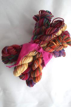 Mini skeins of Koigu KPPPM - Want to make the Colourscape Cowl