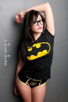 Batman undies and glasses