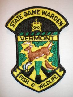 72 Best Game Warden Service images in 2019 | Police patches