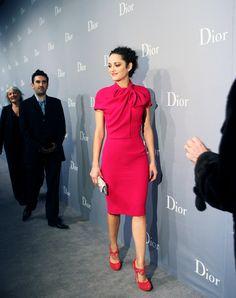Marion Cotillard. Christian Dior.