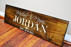 Thank you for checking out our beautiful handmade Home Decor! We sell high  quality and wonderful custom carved family name signs 0ae98be9c