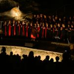 Koor Betower In Cango Grotte Cave