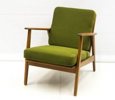 60-luvun vintage nojatuoli Accent Chairs, Furniture, Vintage, Green, Home Decor, Upholstered Chairs, Decoration Home, Room Decor, Home Furnishings