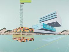 Surrealistic and Architectural Paintings by Dean Monogenis