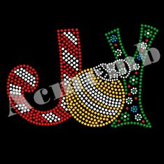 Joy Rhinestone Christmas Heat Transfer Iron On For Clothes Decoration Dot Art Painting, Rock Painting Designs, Mandala Painting, Painting Patterns, Stone Painting, Christmas Mandala, Christmas Rock, Christmas Crafts, Rhinestone Crafts