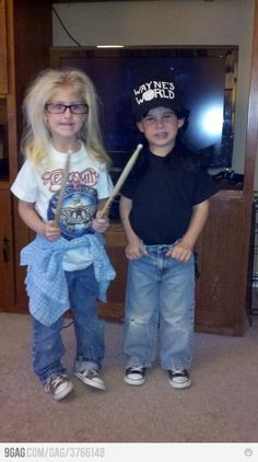 I would give these kids all of my Halloween candy.  Party On!