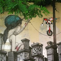 Paris street art #seth #art #graffiti #mural #streetart