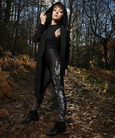 "CRMC X Vivid Black Artistry X View From The Coffin ""TEM.ple O.mnium H.ominum P.ads AB.ba"" Robe & CRMC X @wirosatan ""Aske Til Aske"" Leggings Available at www.crmc-clothing.co.uk | WE SHIP WORLDWIDE Models - Izabella-Rae Jaxx Photography - Adrian McNab #darkwear #need #blackwear #want #cozy #altfashion #alternative #niche #fashionstatement #fashionista #iloveblack #womenwithtattoos #winter #winterfashion #styles #style #alternativeguy #alternativeboy #alternativegirl #alternativeteen #love"