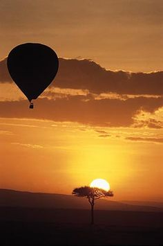 Hot air balloon + safari = awesome
