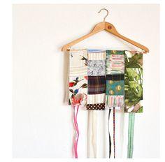 patchwork obi belts