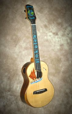 Chuck Moore builds hand crafted custom ukuleles on the Big Island of Hawaii using locally grown koa and native woods. Ukulele Instrument, Ukulele Chords Songs, Bass Ukulele, Banjo, Hammered Dulcimer, All About That Bass, Musical Instruments, Musicals, Gallery
