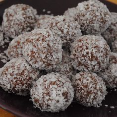 Sugar free chocolate balls