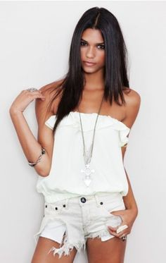 Love this top!!! Shorts are too much