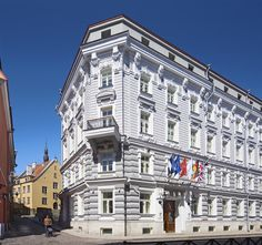 5 star luxury hotel in the medieval Old Town of #Tallinn
