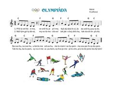 Kids Songs, Music Notes, Winter Sports, Sporty, Sheet Music, Kindergarten, Musica, Nursery Songs, Music Score