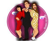 Fan-Art SISTERS FORMACION! de OT de @salud_drawings