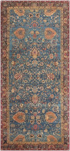 Click here to view this absolutely gorgeous antique Indian Agra Rug / Agra Carpet 46907 from the Nazmiyal Collection in New York City!