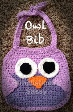 crochet baby bibs - Google Search