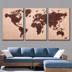 Free Shipping! This beautiful from BigWallPrints.com is an affordable way to make an impact in any room! Our panel art is printed on high quality canvas, and will stand the test of time looking great