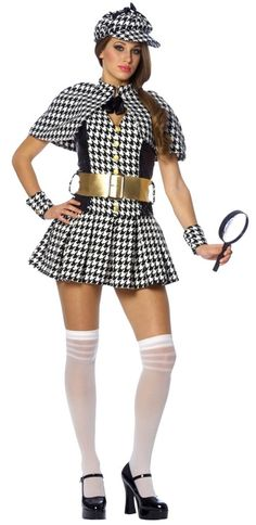 Detective Adult Costume #sexy womens costumes #sexy halloween costumes  sc 1 st  Pinterest & Jem costume/cosplay: Where to find all of the items. | My Style and ...