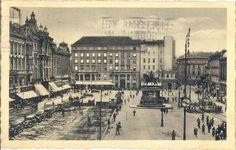 #zagreb #oldtimes #oldpictures #19century #center #lobagolabnb #blacknwhite #photo #croatia
