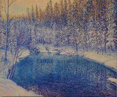 Oil on linen, 46x55 cm Monet, Impressionist, Grand Canyon, Oil, Nature, Artwork, Painting, Naturaleza, Work Of Art