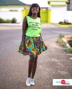 Happy Weekend.  Our very own #yolo star @fellamakafui  rocking #GTP