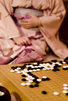 Japanese board game, Go 囲碁