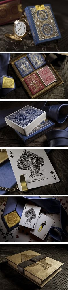 Tycoon Playing Cards by Forefathers