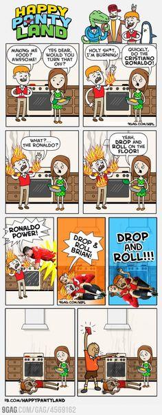 Do the Cristiano Ronaldo!