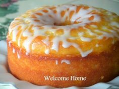 Welcome Home: Search results for lemon cake with lemon vanilla glaze