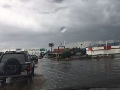 Reno streets flood as thunderstorms drop heavy rain