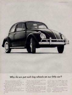 Vieilles publicités pour la Coccinelle de Volkswagen beetle coccinelle volkswagen vw publicite vintage 14
