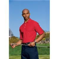 [286774]  Nike Golf Dri-Fit Tech Tonal Band Sport Shirt    Engineered with Dri-FIT technology, this new sport shirt has earned its stripes in comfort and style. Exceptionally breathable, this striking shirt will keep you in the game...whether on the course or in the boardroom. Design features a rib knit collar, three-button placket and open sleeves. The contrast Swoosh design trademark is embroidered on the left sleeve. Made of 5-ounce, 100% polyester Dri-FIT fabric. Pearlized buttons are…