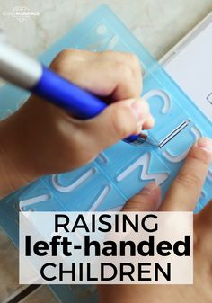 Tips & Tricks for Raising Left-handed Children