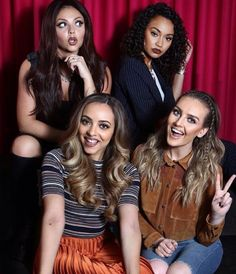 The girls have tried to look casual, natural and friendly in this photo booth.