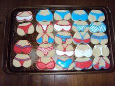 Lingerie Cookies / Casi's Cakery