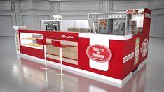 Sette Studio | Quiosques para Shopping - Projeto de Quiosque | Torre de Belém