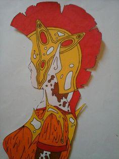 Guerrière romaine