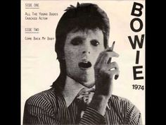 David Bowie - All The Young Dudes [FLAC] - YouTube.  Billy rapped all night about his suicide How he'd kick it in the head when he was 25 Don't want to stay alive when you're 25  Wendy's stealing clothes from unlocked cars Freddy's got spots from ripping off stars from his face A funky little boat race