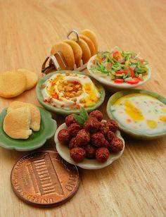 Miniature Food arabic