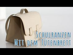 Schulranzen Verpackung mit dem Stampin' Up! Stanz- und Falzbrett für Geschenktüten - YouTube
