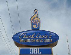 Our newest dealer, CHUCK LEVIN'S WASHINGTON MUSIC!
