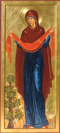 Theotokos by Domenica Ghidotti