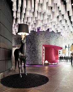 Hotel Barcelo Raval, Barcelona, Spain by Jordi Gali Camprubi
