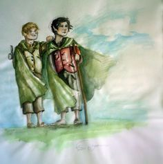 frodo and sam by ~aryundomiel on deviantART