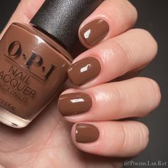 """⚜️ Larissa ⚜️ on Instagram: """"""""Cliffside Karaoke"""" by @opi - Summer 2021 """"Malibu"""" Collection. This color is shown in 2 coats.  Same formula as the other nudes, super…"""" Opi Nails, Karaoke, Nail Polish, Nude, Summer, Coats, Beauty, Collection, Instagram"""