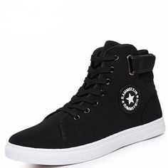Men's Casual Shoes Breathable Canvas